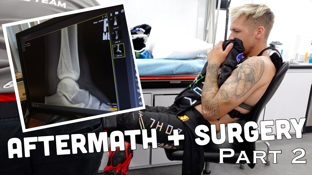 THE AFTERMATH + SURGERY | Monster Energy Supercross Salt Lake City Vlog | Part 2