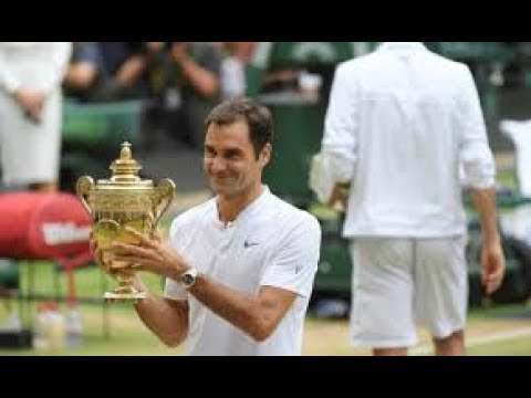 Как Роджер Федерер победил Марина Чилича. Обзор. HD. Уимблдон 2017 финал