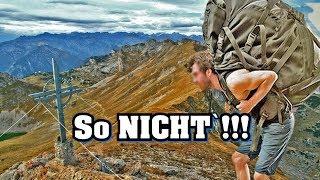 Tirol Bergwandern - Ausrüstung Vorbereiten