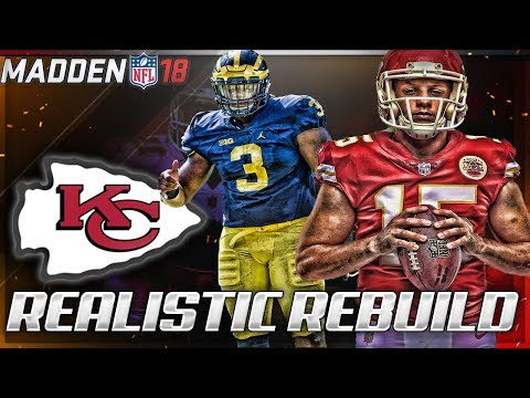 Rebuilding The Kansas City Chiefs | Pat Mahomes + Rashan Gary = FIRE | Madden 18 Connected Franchise