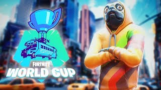 How I QUALIFIED for the Fortnite World Cup ($50000)
