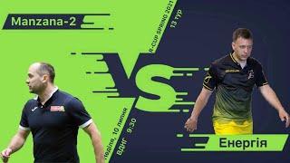 Полный матч Manzana 2 3 1 Энергия Турнир по мини футболу в городе Киев