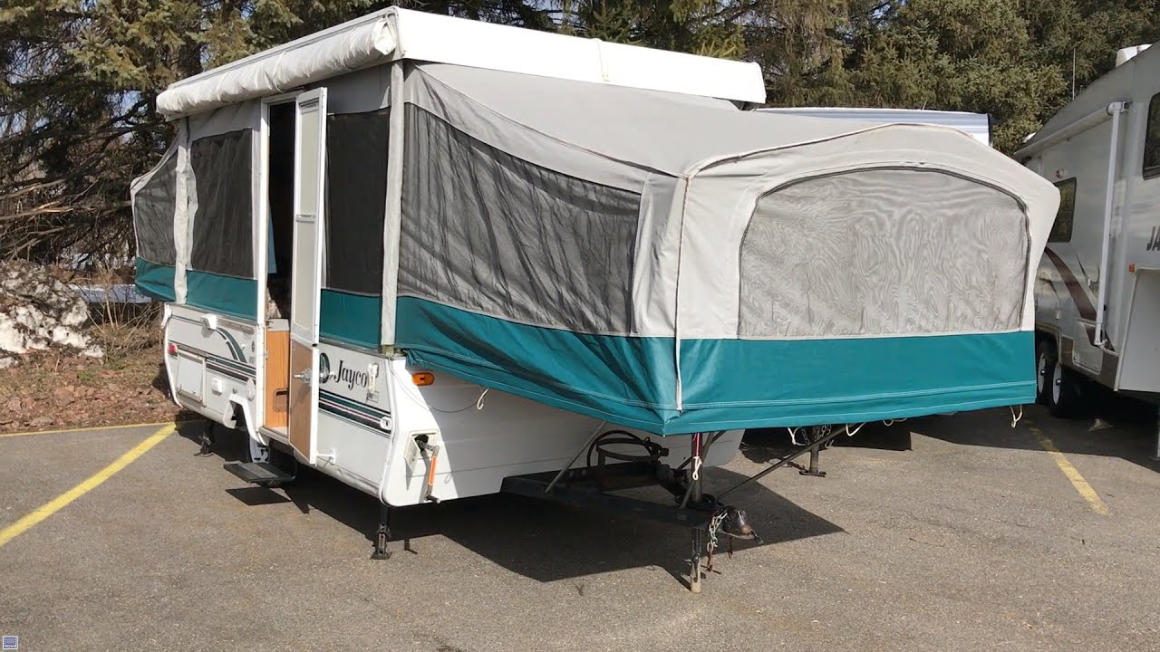 1998 Jayco Jay 1007 Stock 17404 Kings Campers