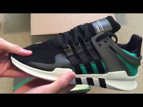best website a2259 8dfc2 Adidas Equipment Support ADV OG Sneaker Unboxing