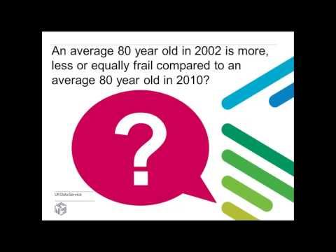 Webinar: An introduction to data on ageing