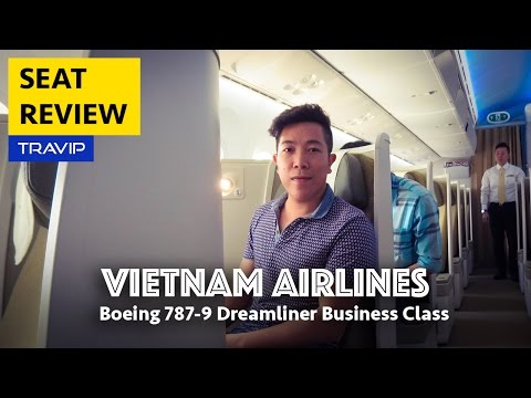 Vietnam Airlines Boeing 787-9 Business Class Review
