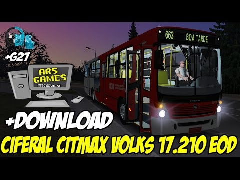 OMSI - CIFERAL CITMAX 17.210 EOD +G27 +[DOWNLOAD]