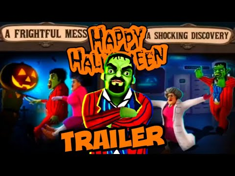 Scary Stranger 3D [Trailer] A Frightful Mess + Shocking Discovery [Happy Halloween Update] Gameplay