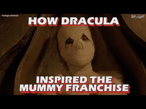 Double Take - The Mummy's Connection to Bram Stoker's Dracula