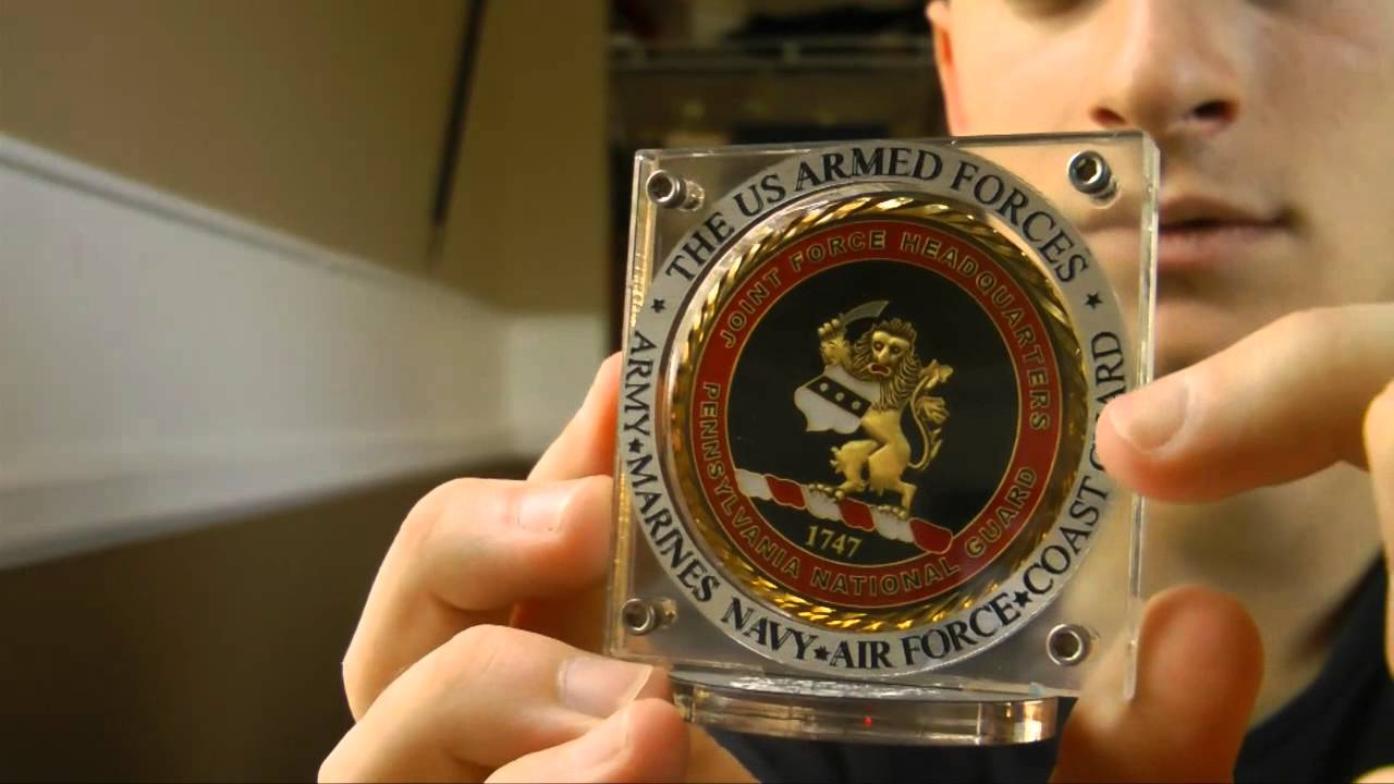 Challenge Coin Display Case Gaus Usa Promo Youtube