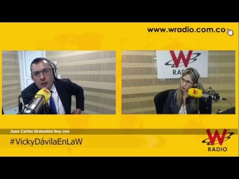 #VickyDávilaEnLaW entrevista a Juan Carlos Granados, contralor distrital de Bogotá