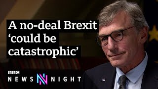 EU 'very worried' about no-deal Brexit - BBC Newsnight