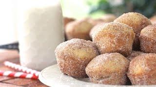 Mini Cinnamon Sugar Doughnut Muffins ~ADDICTIVE~