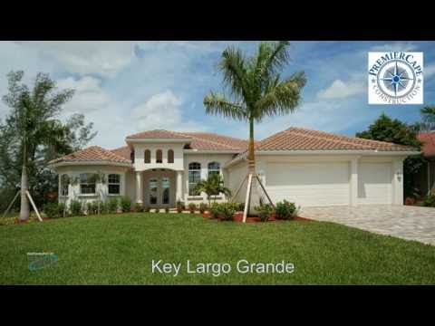 Premier Cape Construction New Construction - Model Key Largo Grande