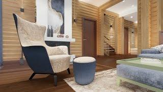 видео Дом из дерева в современном стиле