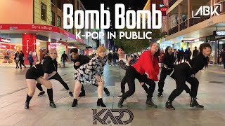[K-POP IN PUBLIC] - KARD (카드) - Bomb Bomb (밤밤) Dance Cover by ABK Crew from Australia