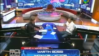Martín Bossi en Animales Sueltos con Alejandro Fantino