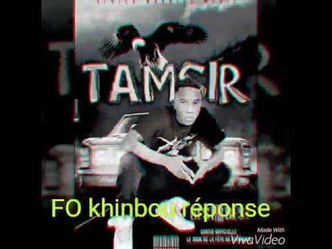 Tamsir - Répond king salaman (FO kinboun new single 2017)