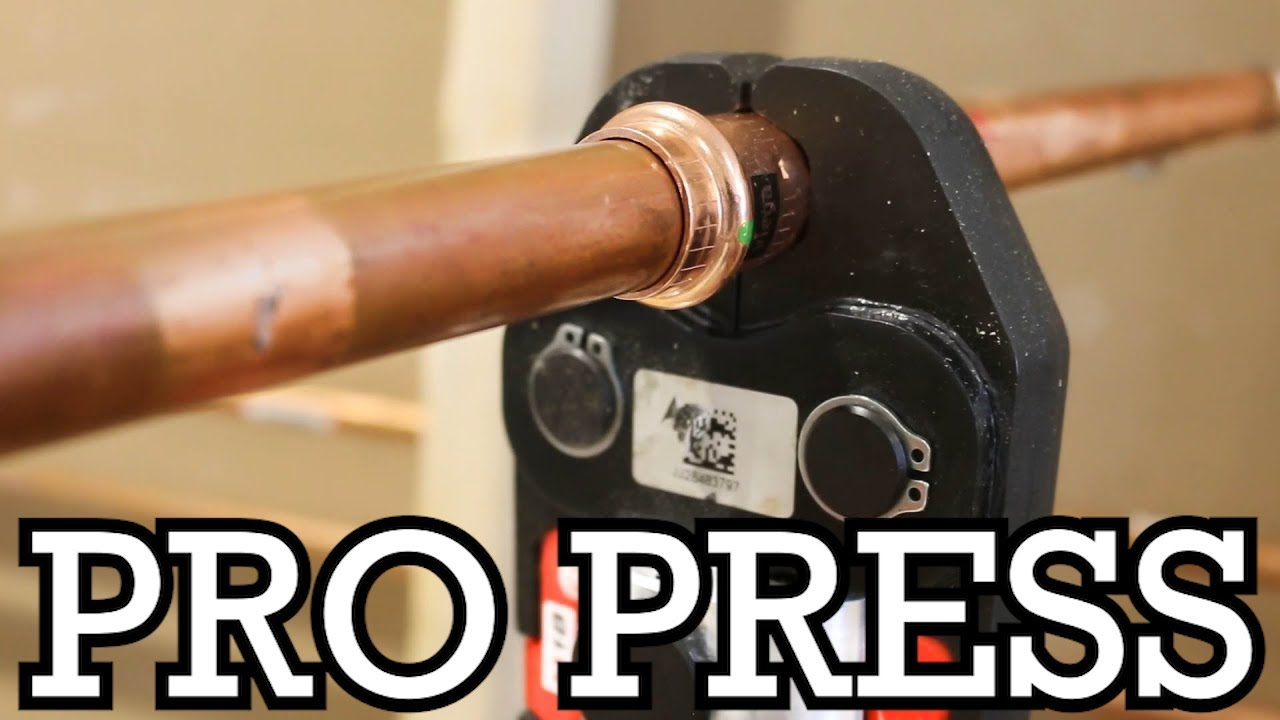 How To Propress Copper Pipes Pros Cons Got2learn Youtube
