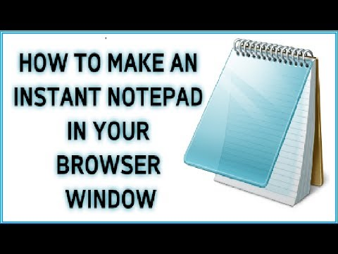 Browser as Notepad | Browser Tricks | Notepad Tricks | Google Chrome Tricks | Notepad in Browser