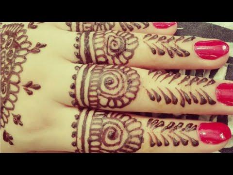 Most Stylish Simple Mehndi Henna Design For Fingers Hand Wedding Eid Mehndi Design 2019 Youtube,Affordable Graphic Design