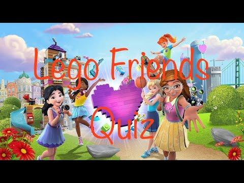 Lego Friends Fun Trivia Quiz - YouTube