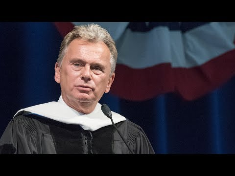 Pat Sajak Delivers the Graduation Speech to Founders Classical Academy, Leander, TX
