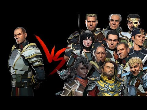 Shadow Fight 3 Sarge vs All Bosses