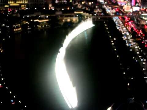 View Of Las Vegas Strip From Cosmopolitan Hotel Balcony Youtube