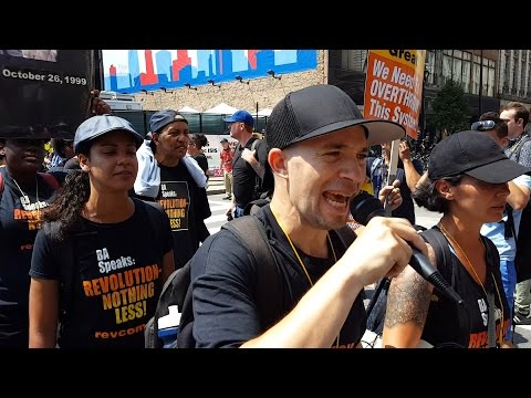 Revolutionary Communist Party protests RNC