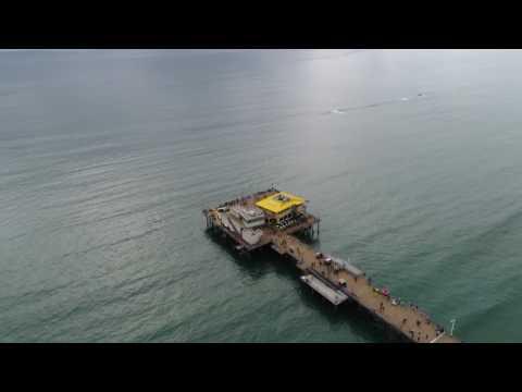 Santa Monica Pier In 4K