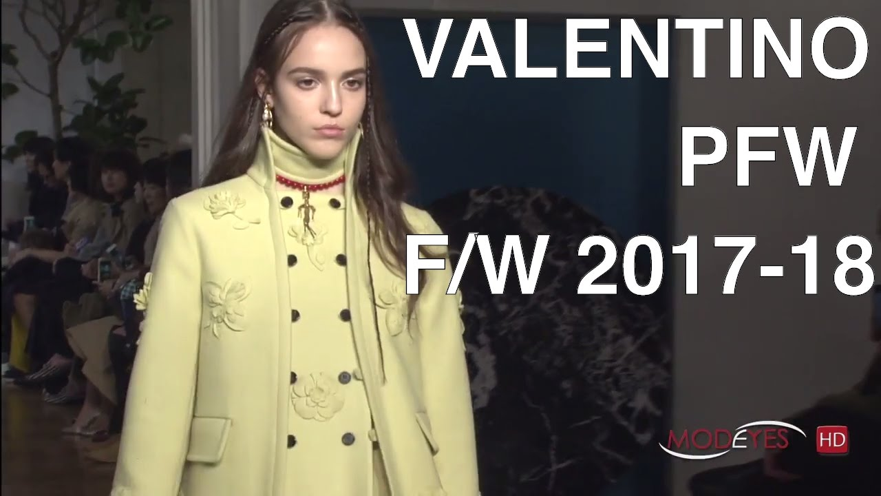 Valentino Fall Winter 2017 2018 Full Fashion Show