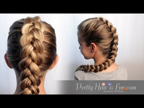 HOW TO DUTCH BRAID HAIR TUTORIAL!! 🙌🙌❤