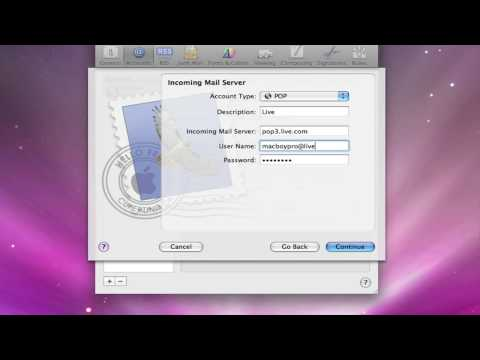 How To Get A Hotmail Account On Mail Application On Mac