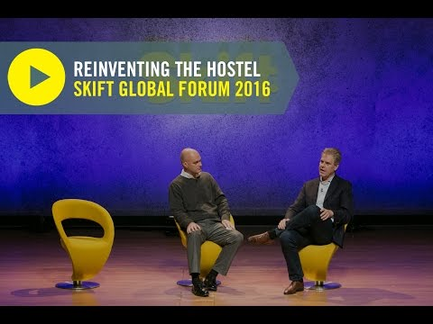 Generator Hostels CEO Frederik Korallus at Skift Global Forum 2016