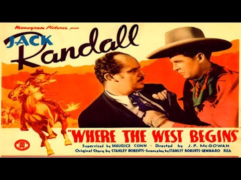 Where The West Begins / 1938