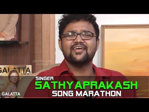Singer Sathyaprakash Song Marathon | Super Singer