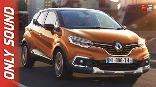 New renault captur 2017 - first test drive only sound
