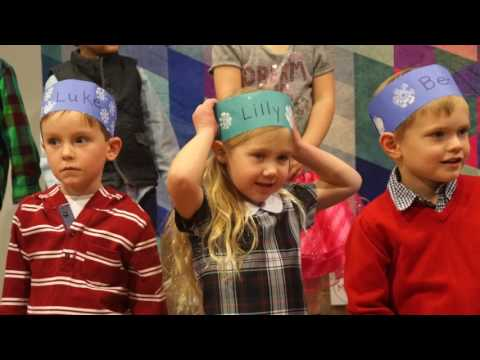 Woodbury Lutheran Preschool Winter Show 2017