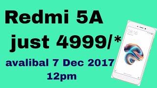 REDMI 5A Mobile phone New Dec 2017 Hindi