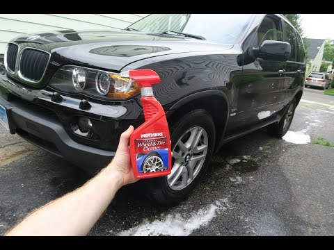 BMW Mothers Foaming Wheel and Tire Cleaner REVIEW