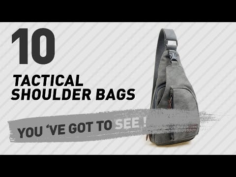 Tactical Shoulder Bags , Top 10 Collection // New & Popular 2017