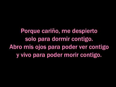 Beyonce - die with you (letra español)