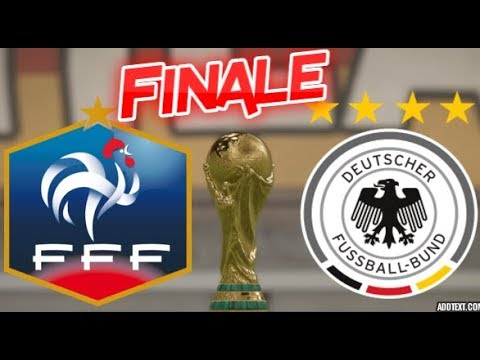 France vs allemagne finale coupe du monde fifa 18 youtube - Finale coupe du monde 2007 ...