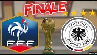 France vs Allemagne Finale Coupe du Monde Fifa 18