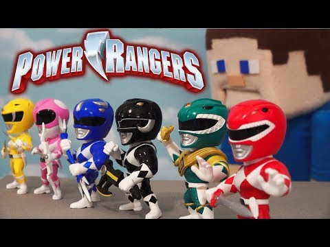 Power Rangers Metals Steel Die Cast Action Figures Mighty Morphin Toy Unboxing Movie w/ Tommy!
