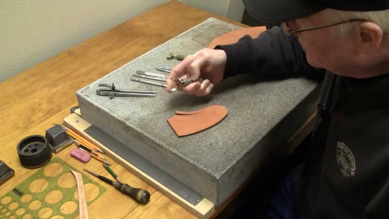 Leather carving for beginners leathercraft tips on tooling