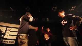 戦極MC BATTLE 第九章(14.4 .13) SIMON JAP vs Mr.SMILE @BEST BOUTその5