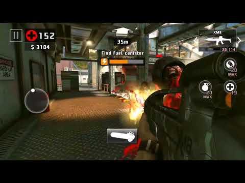 DEAD TRIGGER 2 - Gameplay Walkthrough - BOGOTA - POWER RUN - CHAINSAW XM8 GRENADE LAUNCHER - HD