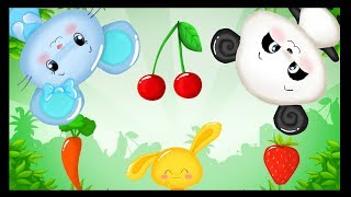 Légumes et fruits - La comptines des fruits et des légumes - Titounis